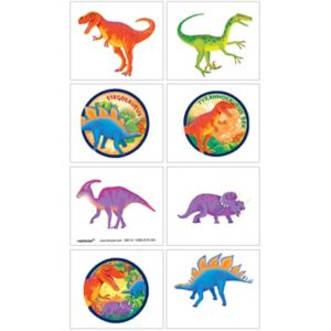 Prehistoric Dinosaurs Tattoos 1 Sheet