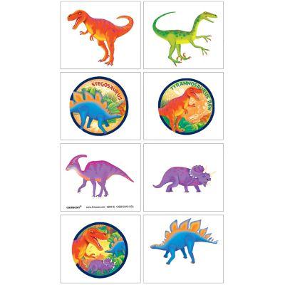 Prehistoric Dinosaurs Tattoos 1 Sheet