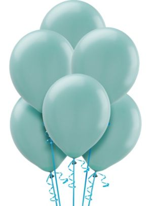 Caribbean Blue Balloons 15ct
