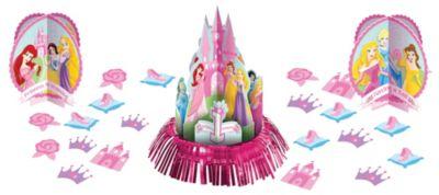 1st Birthday Disney Princess Table Decorating Kit 23pc