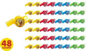 SpongeBob Whistles 48ct