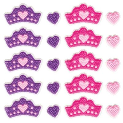 Princess Icing Decorations 20pc