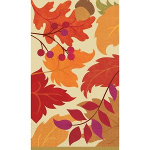 Festive Fall Guest Towels 16ct