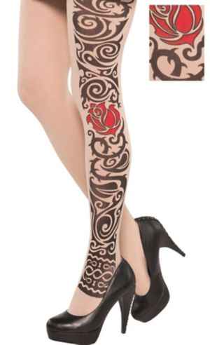 Adult Tattoo Tights