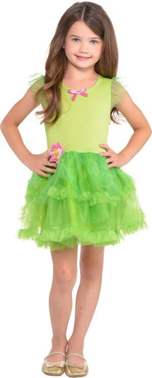 Girls Tinker Bell Tutu Dress