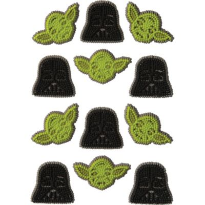Star Wars Icing Decorations 12ct