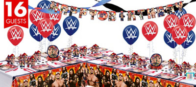 WWE Party Supplies Deluxe Party Kit