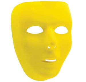 Basic Yellow Face Mask