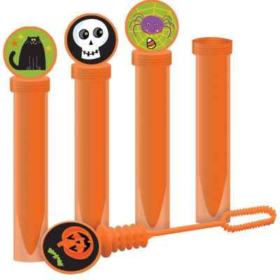 Halloween Bubble Tubes 4ct