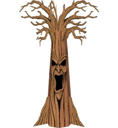 Haunted Tree Cardboard Cutout 102in