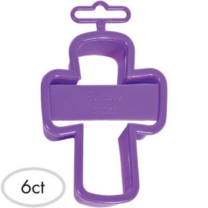 Cross Cookie Cutters 6ct