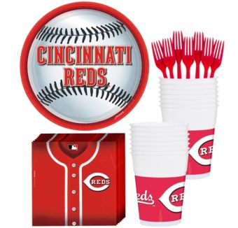 Cincinnati Reds Basic Party Kit for 16 Guests