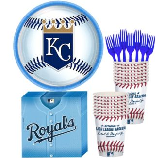 Kansas City Royals Basic Party Kit for 16 Guests