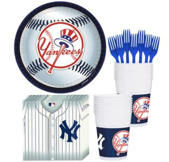 New York Yankees Basic Party Kit for 18 Guests