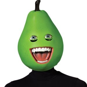 Latex Annoying Orange Pear Mask