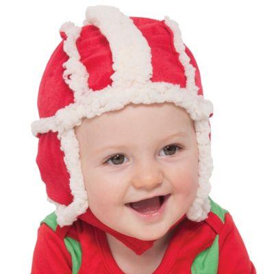 Baby Santa Bomber Hat