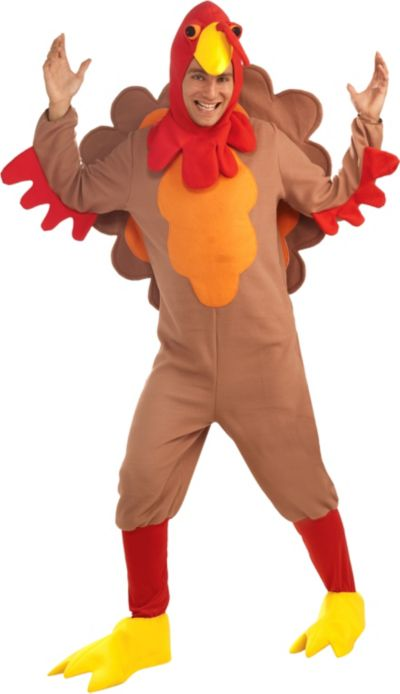 Adult Gobble Turkey Costume
