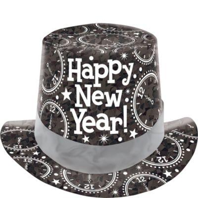 Prismatic Black Top Hat