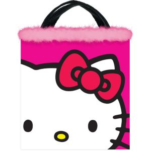 Pink Hello Kitty Trick or Treat Bag
