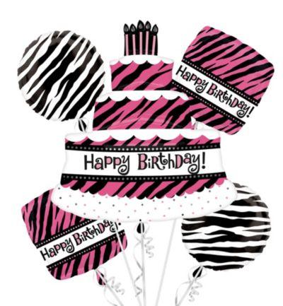 Happy Birthday Balloon Bouquet - Oh So Fabulous