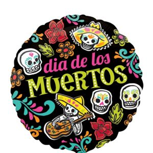 Day of the Dead Balloon - Dia de los Muertos