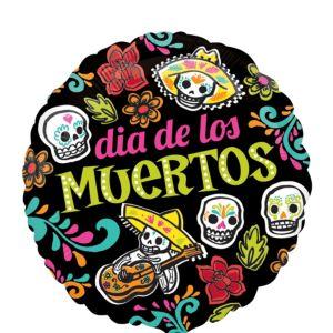 Day of the Dead Balloon - Dia de los Muertos