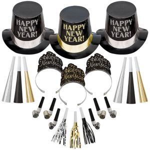Kit For 50 - Elegant Celebration New Year's Party Kit