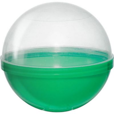 Green Ball Favor Containers 6in 12ct