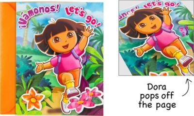 Vamanos Dora the Explorer Invitations 8ct