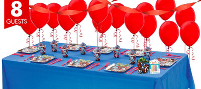 Avengers Basic Party Kit for 8 Guests