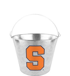 Syracuse Orange Galvanized Bucket