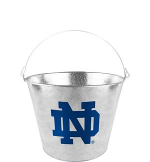 Notre Dame Fighting Irish Galvanized Bucket