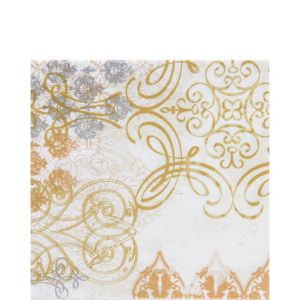 Gold Glamour Lunch Napkins 20ct
