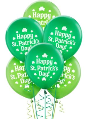 St. Patrick's Day Balloons 15ct