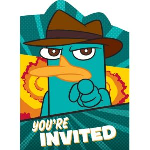 Phineas and Ferb Invitations 8ct