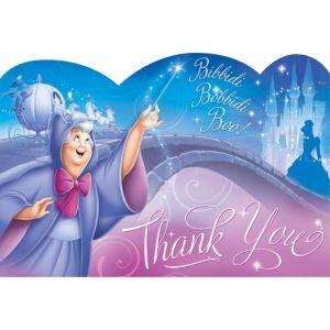 Cinderella Thank You Notes 8ct