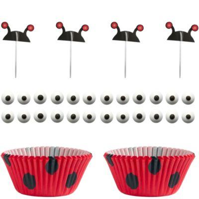 Ladybug Cupcake Combo Pack