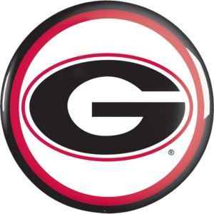 Georgia Bulldogs Button