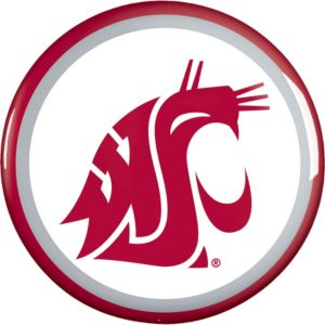 Washington State Cougars Button