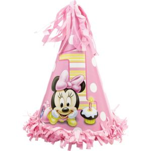 1st Birthday Minnie Mouse Party Hat