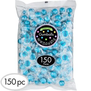 Caribbean Blue Gumballs 150pc