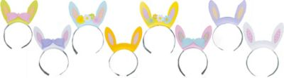 Bunny Ears Headbands 8ct
