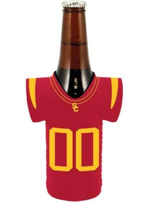 USC Trojans Jersey Bottle Coozie