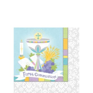 Joyous Communion Beverage Napkins 36ct