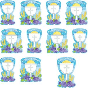 Boy's First Communion Cutouts 12ct