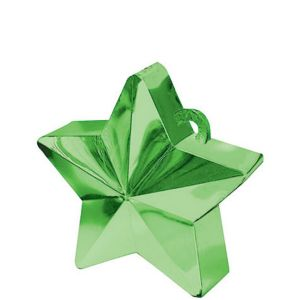 Green Star Balloon Weight 6oz