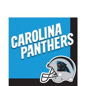 Carolina Panthers Lunch Napkins 36ct