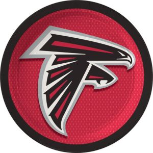 Atlanta Falcons Lunch Plates 18ct