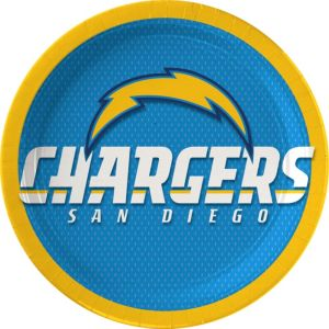 San Diego Chargers Lunch Plates 18ct