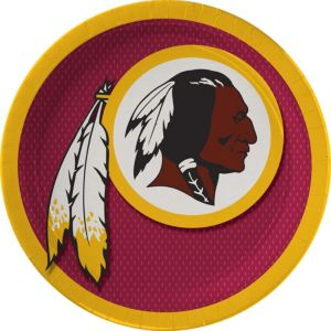 Washington Redskins Lunch Plates 18ct